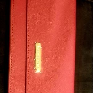 MK make up bag and brand new red wallet